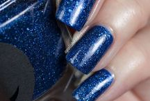 Lapis / A sapphire blue micro-glitter with subtle shimmer