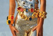 Contra Normcore / Baroque, Rococo fashion - More is More.
