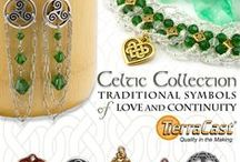 Celtic Mood / Celtic charms and related beads take you on a journey to the past. Intricate geometry steeped in traditional knotwork is at the wild heart of this classic aesthetic. Tierracast has beautiful new charms and beads that tell a story.