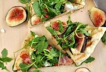 Pizza, Flatbreads, Tarts & Quiches / Savory pies, crostadas and the like