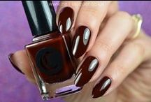 Empire State of Mind / A vampy oxblood red creme
