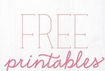    printables+freebies    / by ѕтepнan e мangυм