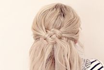 Inspirational Hairstyles / hair styles and tutorials to make any girl feel like a princess / by Emily Robinson