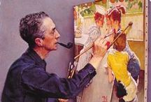 NorMan RocKwell / My all-time favorite illustrator. / by Lu' La .