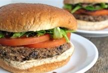 Veggie Burgers & Grill / Vegetarian & Vegan grilling including veggie burgers, kabobs, sides & salads!