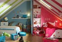 Children's Bedrooms / Fun and sunny designs for the little ones!