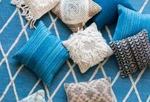 Pillow Passion / Fun and pretty pillows to add a pop or color or texture to the bedroom, couch, or sitting area.  / by Bellacor