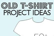 CRAFTS: SEW / T SHIRT MAKEOVERS / by Terri Strong Dufrene