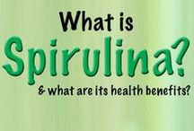 HEALTH: SPIRULINA~SUPER FOODS /  Health benefits of Spirulina • Encouraging weight loss• Counteracting toxins in the body• Helping purify the liver• Increasing mental alertness• Lowering blood cholesterol and excess triglycerides• Helping fight viral infections• Treating radiation sickness• Enhancing ability to generate new blood cells• Improving blood sugar problems• Strengthening the nervous system• Strengthening the immune system• Removing toxic metals such as lead and mercury from the body• Improving healing of wounds / by Terlyn Strong Dufrene