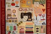 CRAFTS: SEWING:  QUILTS PATTERNS / Tips, Tricks And Tools / by Terri Strong Dufrene