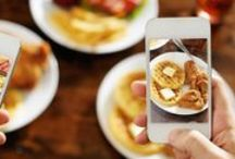 Restaurant Social Media Strategy / Social media best practices, blogs, infographics, and