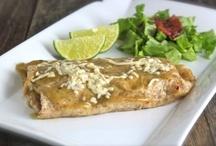 Vegetarian Mexican Dishes / Vegetarian & Vegan Mexican dishes including beans, rice, burritos, enchiladas, salsa & guacamole.