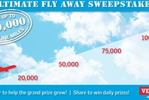 Ultimate Fly Away Sweepstakes by VELUX / The Ultimate Fly Away Sweepstakes is the contest where the grand prize grows as more people enter. Enter today to be placed in a drawing for up to 100,000 airline miles. http://www.facebook.com/VELUXAmerica/app_111846655586523