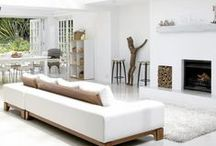 White Space / Sometimes the absence of darker tones can help complement spaces.  Here's some of our favorite white spaces.