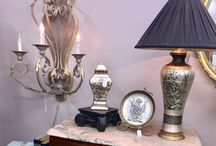 Artistic Furnishings / Luxury pillows, Chandiliers, clothes and antiques.