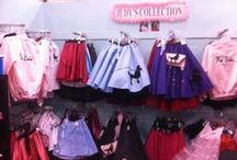 """Judy's Collection / The """"Famous"""" Poodle skirts that are sold worldwide are in stock here . . .  plus everything any girl or lady needs for the sock hop! Other Gift items, too. Custom alterations and embrodiery also avaliable."""