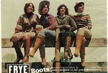 | FRYE ARCHIVE | / A selection of vintage Frye products, ads, and mementos.