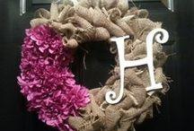 Wreaths / by Anastasia Hacker