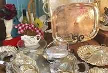 The Mantlepiece Antiques / We enjoy traveling to find fun and unusual pieces.