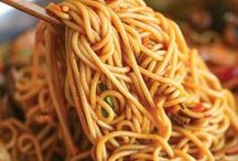 Asian Noodle Recipes / great noodle dishes from Asia