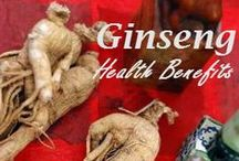 HEALTH: GINSENGS / by Terri Strong Dufrene