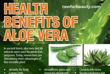 HEALTH: ALOE VERA PLANTS / by Terlyn Strong Dufrene