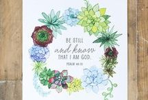 Words Matter / Beautiful Prints featuring Inspirational Quotes