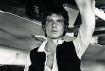 """Star Wars / A place where I can embrace my inner geek and my long-standing adoration of Han Solo. How I love a scoundrel (""""I know"""") #starwars"""