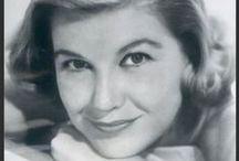 Barbara Bel Geddes / Barbara Bel Geddes was best known for being Miss Ellie in Dallas, but was also a movie star in her own right in the 50s inc. in Hitchcock's Vertigo: http://weheartvintage.co/tag/barbara-bel-geddes/