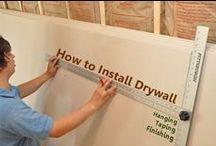 DIY: DRYWALL REPAIR / by Terri Strong Dufrene