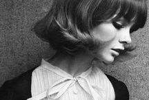 Jean Shrimpton / Jean Shrimpton - 1960s model and 'it' girl of swinging Sixties London. Oh, and my favourite model of all time :)