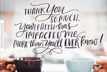 Thank You eCards / Inspirational images to show your gratitude!