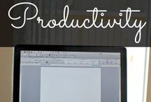 PRODUCTIVITY / Learn how to increase and improve your productivity