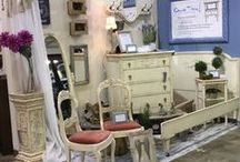 """Chalk This / Vintage and shabby chic furniture, custom painting and distressing. """"Renewing the beauty."""""""