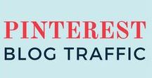 PINTEREST BLOG TRAFFIC / You'll find everything related to Pinterest blog traffic on this board, including how to grow blog traffic, increase Pinterest traffic, Pinterest tutorials, Pinterest tips, and how to use Pinterest for beginners, business, and bloggers!