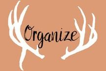 Organization / This board is full of great tips and tricks to make organization a hundred times easier.