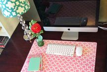 Home Sweet Home: My Little Home Office Ideas / by Gail Schwanitz
