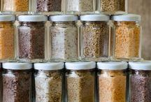 Condiments and Spices / You don't have to spend a fortune to make your own seasonings, sauces, spices, and condiments.  These recipes will help you find some great ideas and recipes for homemade condiments. #condiments #seasoning #makeyourown