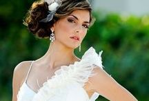 Brides (Professional Photos) / Brides and party on wedding day!  Bridal Hair & Makeup by Kiss This Makeup.