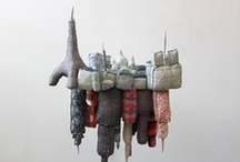 Craft based Art / Amazing intelligent art using traditional craft materials.