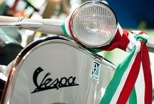 Italia; Made in Italy, tricolore / From Vespa till Caffè / by Ingrid Lucassen