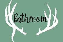 Bathroom / What I'd love my bathrooms to look like.