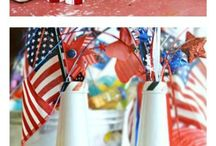 RED WHITE AND BLUE HOLIDAYS
