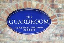 The Guardroom / The Guardroom has a varied choice of pre-1950s furniture and jewellery as well as a vintage room. You can also treat yourself to a slice of cake in our coffee shop.