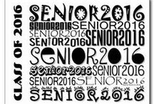 Senior Class of 2016   Designs by Blue Beach Song™ / Senior Class of 2016 - Celebrate Your Senior Year! Designs and products for high school seniors and graduating classes of any year! Senior Class of 2016 designs by Martie Hevia   Blue Beach Song. (http://www.zazzle.com/bluebeachsong   BlueBeachSong.com)