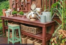 Around the yard / Ways to decorate, personalize and utilize your yard space / by Debbra Friesen
