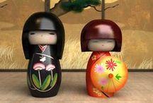Kokeshi/Dolls / by Elizabete Guima
