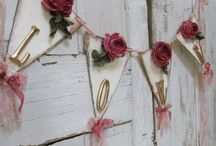 banners, wreaths & garlands / holiday or every day banners, wreaths & Garlands for windows,doors and inside / by Tammy Barrett