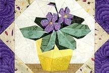 Quilts - Blocks - PP - Plants