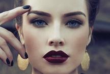 maquillage / hair, makeup, nails / by Nadia Zarhloul